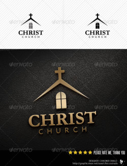 christ-church-logo-template-preview
