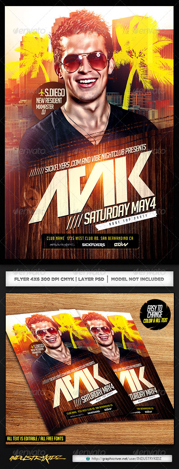 amazing new flyer edm dj flyer template psd com edm dj flyer template