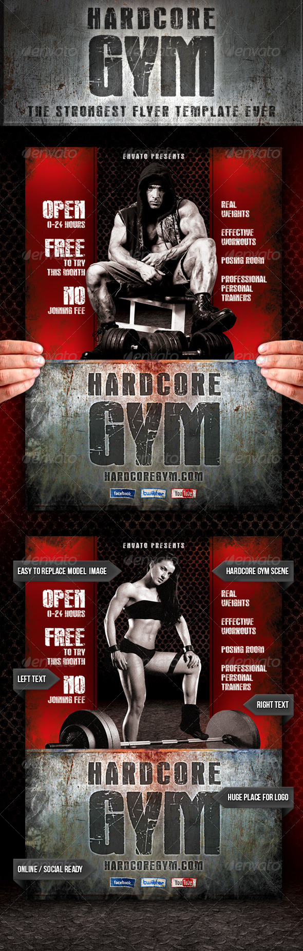 hardcore gym flyer com your template resource hardcore gym flyer