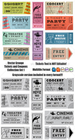 035_Grunge Ticket Set3_grpreview