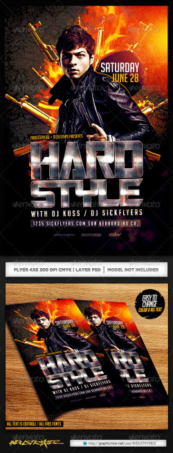 HardStyle_Flyer_Template