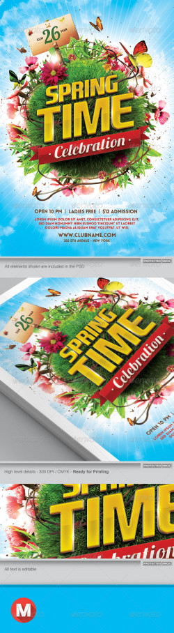 Spring Celebration Flyer Template Vr02_Preview