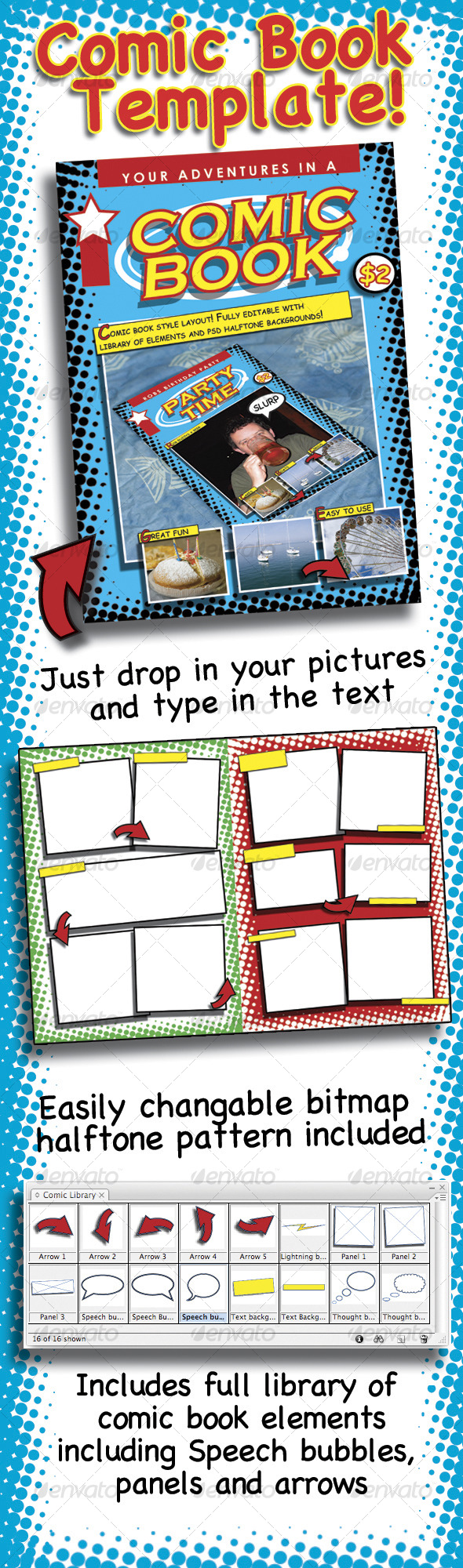 comic book template com your template resource comicbook