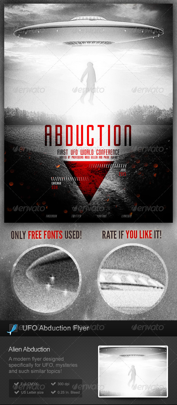 ufo u2013 alien abductions flyer poster www moderngentz com your