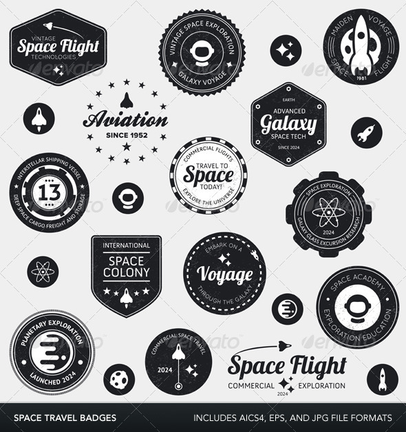 Space Labels And Badges